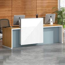 Rudo Wooden Reception Desk