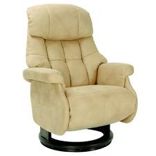 Beige Hamilton Adjustable Recliner Armchair