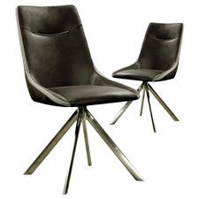 Black Doris Dining Chairs (Set of 2)