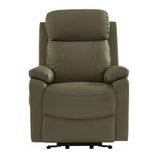 Terrence Leather Electric Lift Recliner Chair