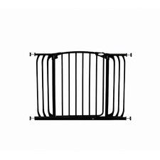 Hallway Standard Security Gate in Black