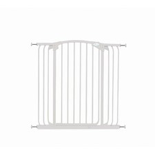 Hallway Security Gate in White