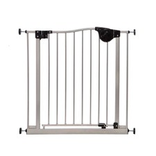 Magnetic Sure Close Gate in Silver