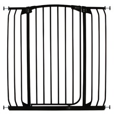 Hallway Security Gate in Black