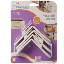 Cream Angle Home Locks (Set of 4)
