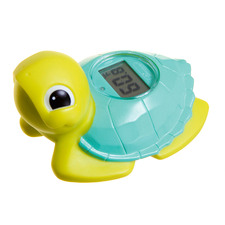 Turtle Baby Bath & Room Thermometer