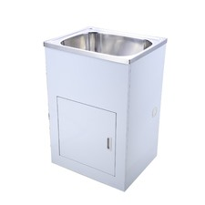 Stainless Steel 50 cm 45L Tub and Cabinet