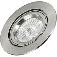 Round Centre Recessed Downlight Frame (Set of 3)