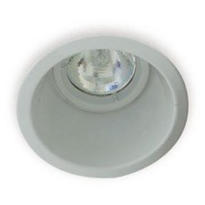 Round Deep Reflector Recessed Downlight in White