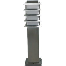 Medium Bollard Lamp in Stainless Steel
