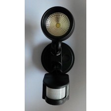 Single Mega 13W Exterior Spot and Floodlight with Sensor