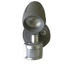 Single Mega 13W Exterior Spot and Floodlight with Sensor