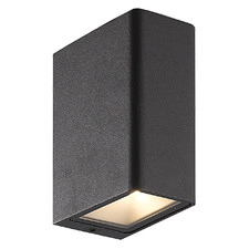 Cuba Aluminium Outdoor Wall Light