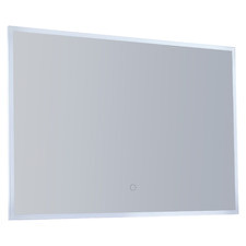 Rectangular Bathroom Wall Mirror with LED