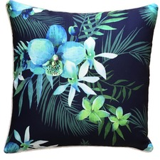 Blue Lagoon Navy Posey Outdoor Cushion