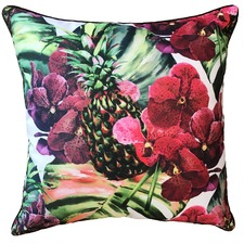 Carmen Orchid Outdoor Cushion