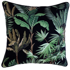 Black & Green Amazonia Trunks Outdoor Cushion