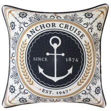 Boathouse Anchor Outdoor Cushion