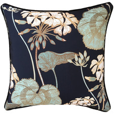 Navy Celadon Outdoor Cushion