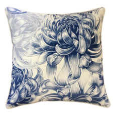 White Hamptons Outdoor Cushion