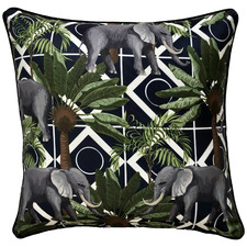 Raja Elephant Outdoor Cushion