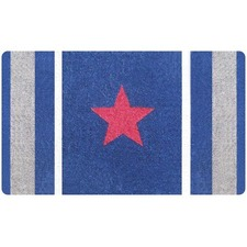 Red Star Doormat