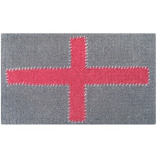 Red Cross Doormat