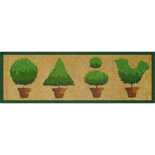 French Topiaries Doormat