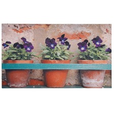 Flower Pot Doormat