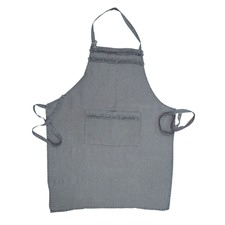 Linen Apron in Lilac