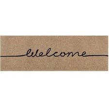 Long Welcome French Doormat