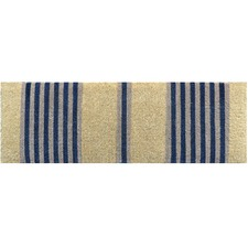Nautical Stripe Long Coir Doormat