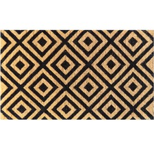Classic Diamond Long Coir Doormat