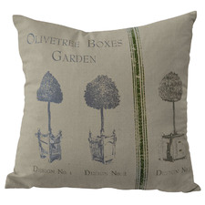 Topiary Cotton Cushion