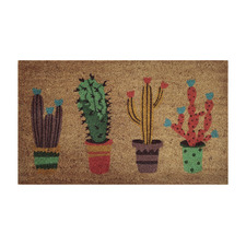 Fun Cactus Outdoor Doormat