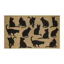Fur Babies Cats Outdoor Doormat