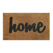 Home Premium Hand-Loomed Coir Outdoor Doormat