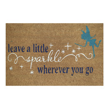 Magical Sparkle Outdoor Doormat