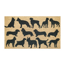 Fur Babies Dogs Outdoor Doormat