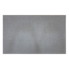 Grey Grid Marine Grade Doormat