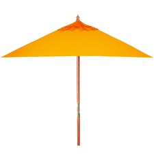 Orange Square Milano Canopy Market Umbrella