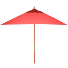 Red Square Milano Canopy Market Umbrella
