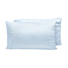 Blue Nights Bamboo Lyocell Standard Pillowcases (Set of 2)