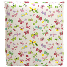 Polka & Butterfly Bedhead with Reversible Slip Cover