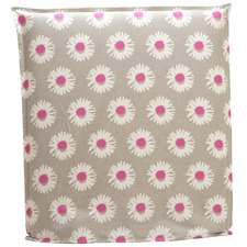 Sunflower Bedhead With Reversible Slip Cover