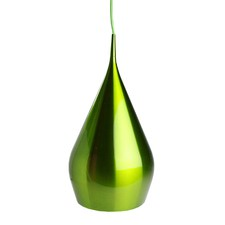 Green Angels 1 Light Aluminium Pendant