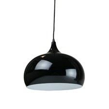 Black Sellicks1 Light Metal Pendant