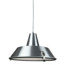 Chrome Coogee 1 Light Aluminum Pendant