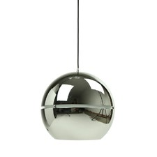 Vibeke Premium Mirror Ball Pendant Light in Chrome