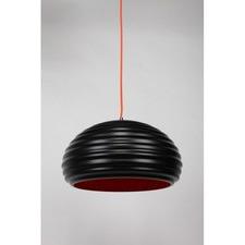 Black Bilgola 1 Light Aluminum Pendant